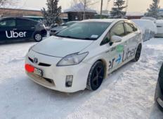 Аренда Toyota Prius 2016 в Красноярске
