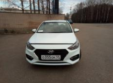 Аренда Hyundai Solaris 2019 в Костроме