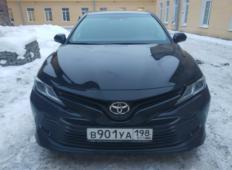 Аренда Toyota Camry 2018 в Санкт-Петербурге