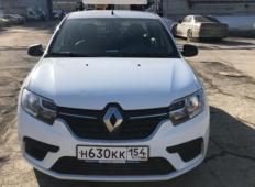 Аренда Renault Logan 2017 в Новосибирске