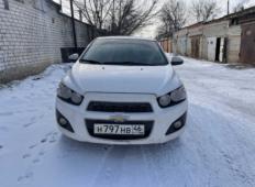 Аренда Chevrolet Aveo 2014 в Курске