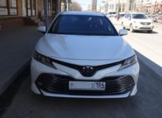 Аренда Toyota Camry 2021 в Новосибирске