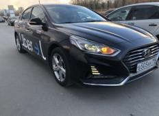Аренда Hyundai Sonata 2018 в Санкт-Петербурге