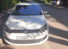 Аренда Volkswagen Polo 2013 в Ростове-на-Дону