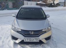 Аренда Honda Fit Aria 2016 в Красноярске
