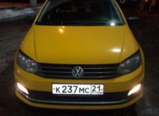 Аренда Volkswagen Polo 2019 в Чебоксарах