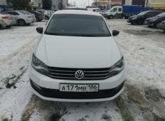 Аренда Volkswagen Polo 2017 в Сургуте