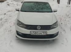 Аренда Volkswagen Polo 2017 в Перми