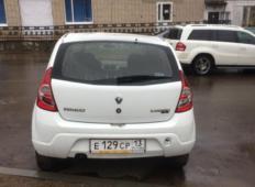 Аренда Renault Sandero 2012 в Саранске