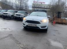 Аренда Ford Focus 2019 в Санкт-Петербурге