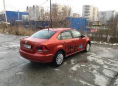 Аренда Volkswagen Polo 2017 в Новосибирске