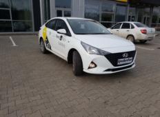 Аренда Hyundai Solaris 2020 в Красноярске