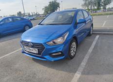 Аренда Hyundai Solaris 2021 в Екатеринбурге