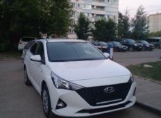 Аренда Hyundai Solaris 2021 в Кирове