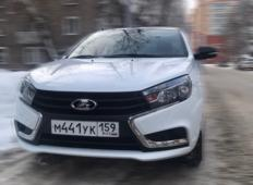 Аренда LADA (ВАЗ) Vesta 2020 в Перми