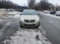 Аренда Renault Sandero 2012 в Курске