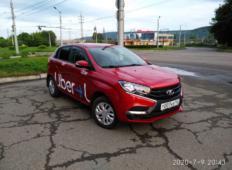 Аренда LADA (ВАЗ) XRAY 2019 в Новокузнецке