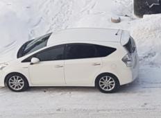 Аренда Toyota Prius 2014 в Хабаровске
