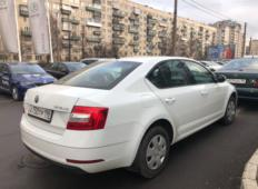 Аренда Skoda Octavia 2018 в Санкт-Петербурге