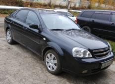 Аренда Chevrolet Lacetti 2007 в Красноярске