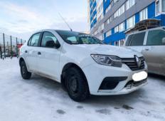 Аренда Renault Logan 2019 в Новом Уренгое
