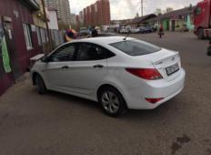 Аренда Hyundai Solaris 2015 в Красноярске