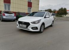 Аренда Hyundai Solaris 2018 в Омске
