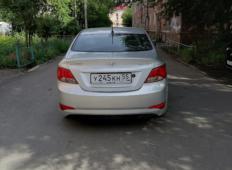 Аренда Hyundai Solaris 2015 в Омске