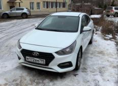 Аренда Hyundai Solaris 2019 в Сочи