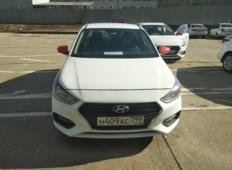 Аренда Hyundai Solaris 2019 в Челябинске