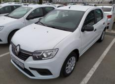 Аренда Renault Logan 2019 в Сочи