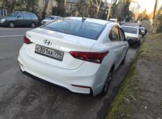 Аренда Hyundai Solaris 2017 в Сочи