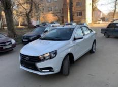 Аренда LADA (ВАЗ) Vesta 2019 в Воронеже