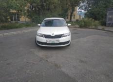 Аренда Skoda Rapid 2018 в Санкт-Петербурге