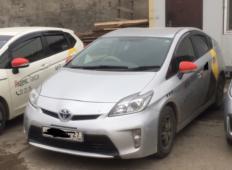 Аренда Toyota Prius 2012 в Хабаровске