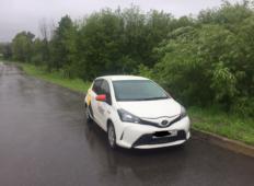 Аренда Toyota Vitz 2014 в Хабаровске