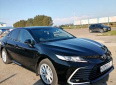 Аренда Toyota Camry 2021 в Краснодаре