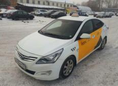 Аренда Hyundai Solaris 2017 в Перми