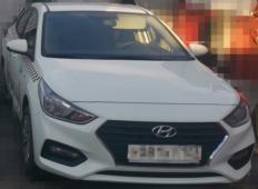 Аренда Hyundai Solaris 2019 в Адлере