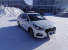Аренда Hyundai Solaris 2018 в Новосибирске