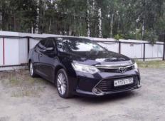 Аренда Toyota Camry 2020 в Перми