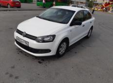 Аренда Volkswagen Polo 2014 в Екатеринбурге